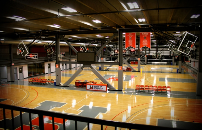 House Of Sports Multiple Basketball Courts 2 Pinnacle